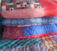 comforter stack